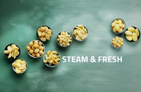 Steam and fresh